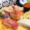 寿司職人が握る本格握り寿司は、隠れた人気メニュー