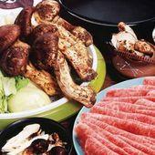老舗魚松厳選松茸と最高級近江牛の食べ放題『名物あばれ食い』