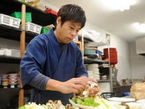 「味」「質」「量」でお客さまを満足させる料理とサービスの提供