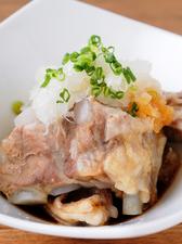柔らかさと食感が楽しい『美稲豚なん骨(おろしポン酢)』