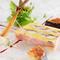 季節感を感じさせる極上のひと皿。五感で楽しむ料理がそろいます