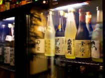 通好みの日本酒も充実のラインナップ