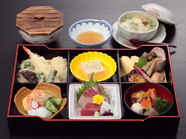ランチにおすすめ! 気軽に日本料理が味わえる『幕の内弁当』