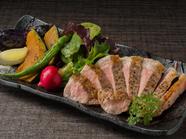 静岡茶で育った健康な豚『静岡産TEA豚ロースのステーキ』