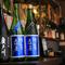 充実したラインアップ! 店主厳選の日本酒と焼酎