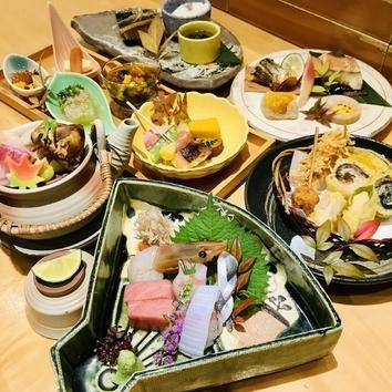 彩り和食コース