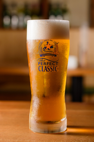 ビールにこだわっている