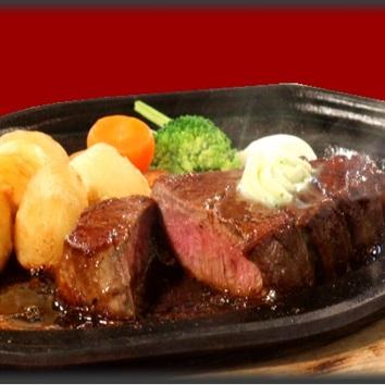 ステーキディナーコース<6品>国産牛