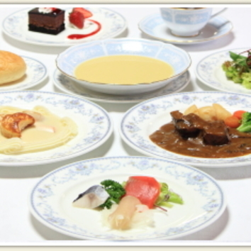 明治の洋食セミコース<7品>