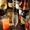 グラスやデキャンタ、ボトルと3種類から選べるワイン