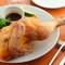 千葉県産錦爽どりを低温でじっくりと焼く『ロティサリーチキン』