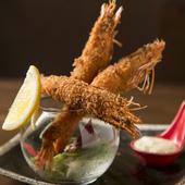 サックリ&プリプリの食感が美味『エビフライ タルタルソ-ス』