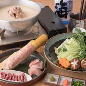 鶏がらスープの旨みがたっぷり『薩摩赤鶏 水炊き』
