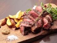 噛み締めるたびに肉本来の旨味が赤身から『藤枝の熟成和牛』