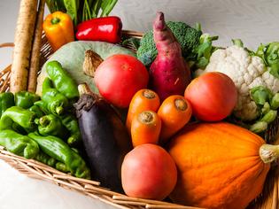 産地にこだわらず、全国各地から仕入れる旬の野菜