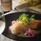 美桜鶏のロースト ポルチーニ香るクリームソース