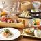 魚も野菜も、おいしいのは旬のもの。お酒も季節に合わせて