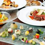 記念日コース限定のケーキ付!大切な記念日を素敵な雰囲気と本格イタリアンでお過ごしください。