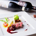 ランチも、ディナーも。満足のできる雰囲気とお料理を二人で堪能