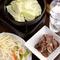 北海道から取り寄せたラム肉『ジンギスカン』