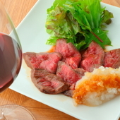 ライトな感覚で楽しめる「ワインに合う和食」にこだわってます