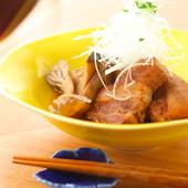 赤ワインと相性ピッタリにアレンジされた『豚角煮』