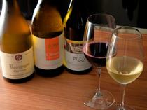 ソムリエが提案する、ゲストに最適な名柄の豊富なワイン
