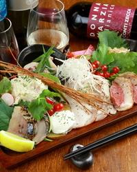 河内鴨と旬の野菜を食す! 贅沢な時間をお楽しみください!