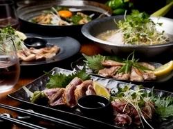 野菜ソムリエ厳選の旬野菜と大山豚のコース!疲労回復コレステロール抑制効果など、心も体も嬉しいコース!