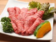 赤身のおいしさを存分に味わえる、ヘルシーな肉です。余分な脂が少ないので、女性に人気です。