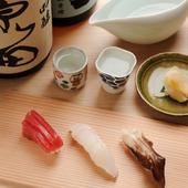 新鮮なネタにひと仕事加えることで生まれる、魚の奥深い味わい