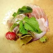 【一番人気のコース】創作料理「うにあいすと胡麻豆腐」を含む、造りもお肉もお寿司もデザートも!