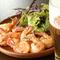 新鮮野菜と蕎麦の絶妙なコラボ『ペペロンチーノ風蕎麦サラダ』