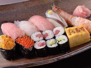 何といってもこだわりは寿司! 『特上握り』