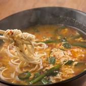 辛さとスープの旨味がたまらない。宮崎県発祥の『辛麺』