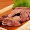 刺身でも食べられるほど新鮮な肝を、さっと炙った人気のメニュー『白肝あぶり刺し』