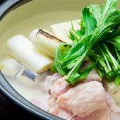 香ばしいネギの香りがたまらない『ネギ間湯豆腐』