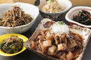 野菜や海草たっぷり、優しい味わいの『おばんざい』 各種