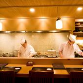 これぞ一流。職人の技が細部にまで光る料理