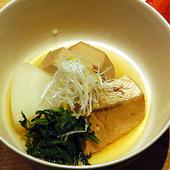 四季折々の食材がいただける『京野菜と海の幸の炊き合わせ』