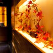 落ち着いた個室空間に豊富な宴会コース…接待にも最適です