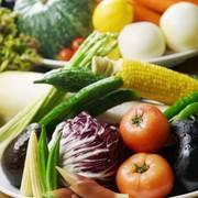 『鶏っく』では、こだわって選ばれた産地直送の野菜を使用しています♪♪  【価格】0円