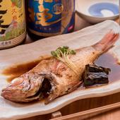 市場から毎日新鮮さと旬が届く こだわりの鮮魚をつかった料理