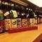 日本酒はメニューは飲み比べに最適です。