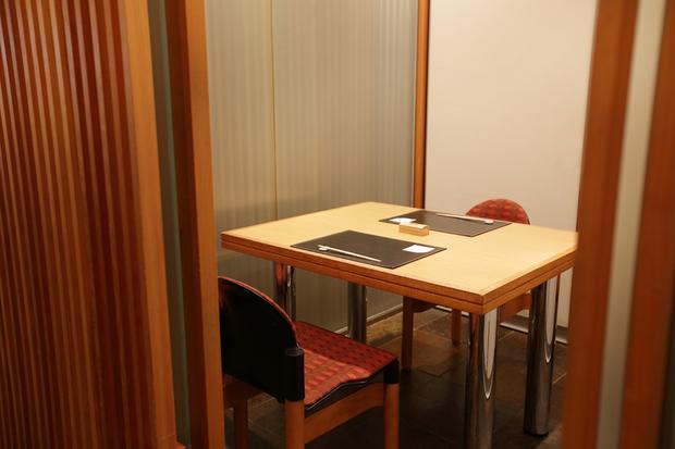 中嶋の個室
