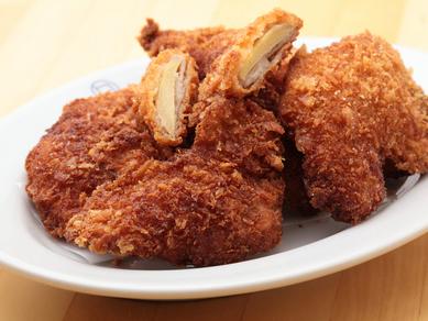 高知県産の無農薬生姜を使った『肉巻き生姜のフライ』