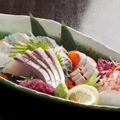柳川市場直送の、朝じめ鮮魚