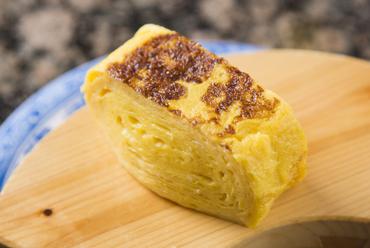 石見銀山天領卵を5個使用した『超(特製)厚焼玉子』