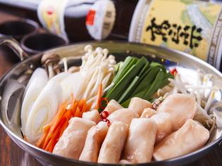 4種類の味から選べる『Gyukotsu ホルモン鍋』