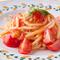 ニンニクと唐辛子のトマトソース シエナ伝統生パスタのピチ / pici alla carrettiera